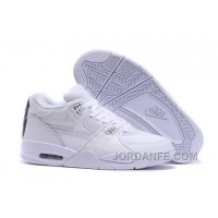 Nike Air Flight '89 White/White-White Shoes For Sale Hot
