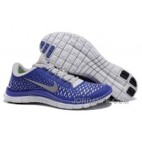 Cheap Nike Free 3.0 V4 Blue And Gray Discount