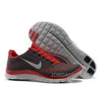 Nike Free 3.0 V4 Running Shoes Red Black Glow Cheap To Buy