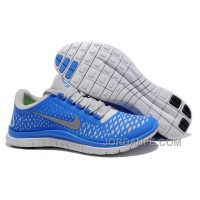 Nike Free 3.0 V4 Royal Blue Grey New Release