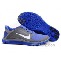 Nike Free 4.0 V3 Cool Grey White Violet Force Discount