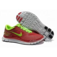 Cheap Nike Free 4.0 V2 Red Green Online