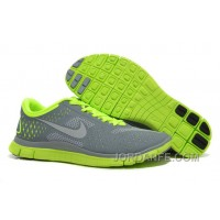 Cheap Nike Free 4.0 V2 Light Grey Green For Sale