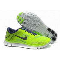 Nike Free 4.0 V2 Running Shoes Electronic Green Discount