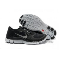 Cheap Nike 5.0 V4 Black White Silver Free Shipping