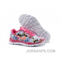 Nike Free TR Fit Kid Pink Orange Shoes Discount