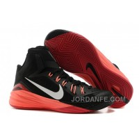 Nike Hyperdunk 2014 Black Red Authentic