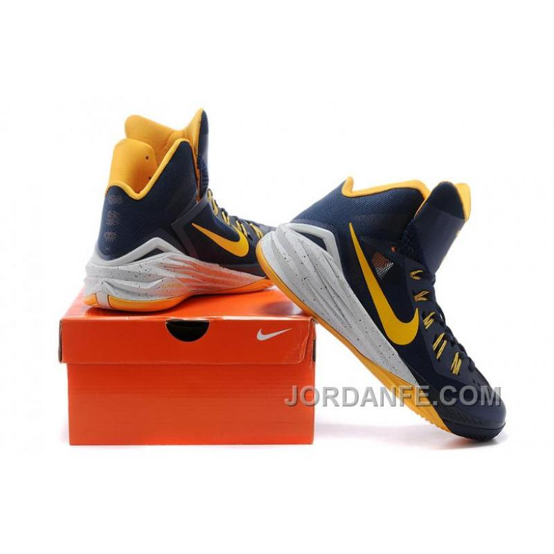 buy popular f2d6f 78d98 ... buy nike hyperdunk 2014 xdr women deep blue gold free shipping 67444  9ca74