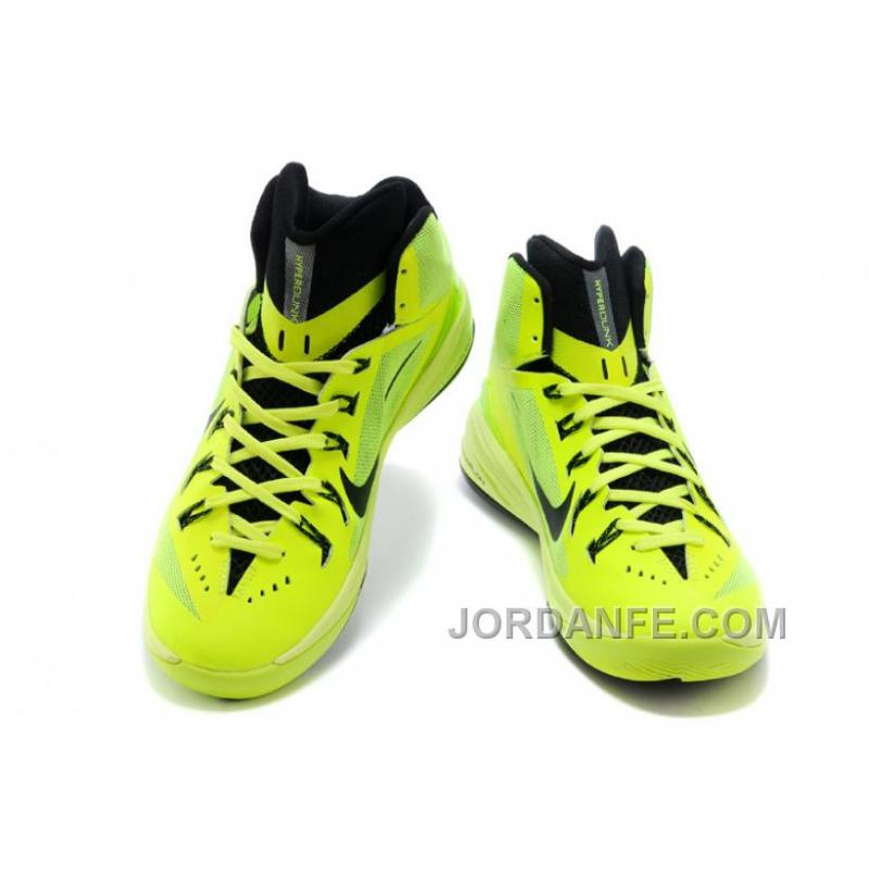 ... Nike Hyperdunk 2014 XDR Women Fluorescent Green Black Free Shipping ...