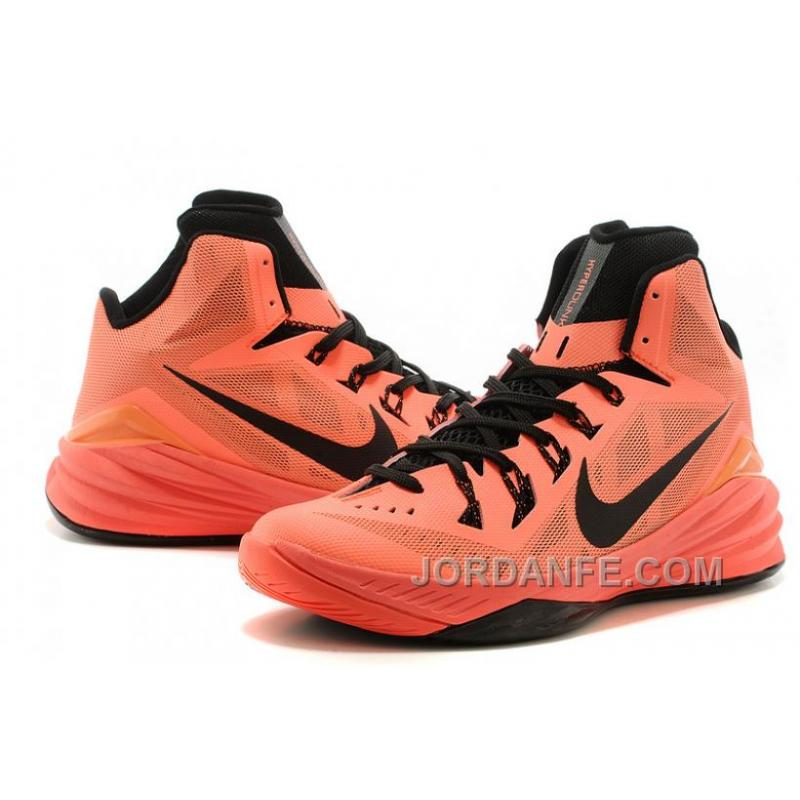 2d7500db7a ... Nike Hyperdunk 2014 XDR Women Light Orange Black Free Shipping ...