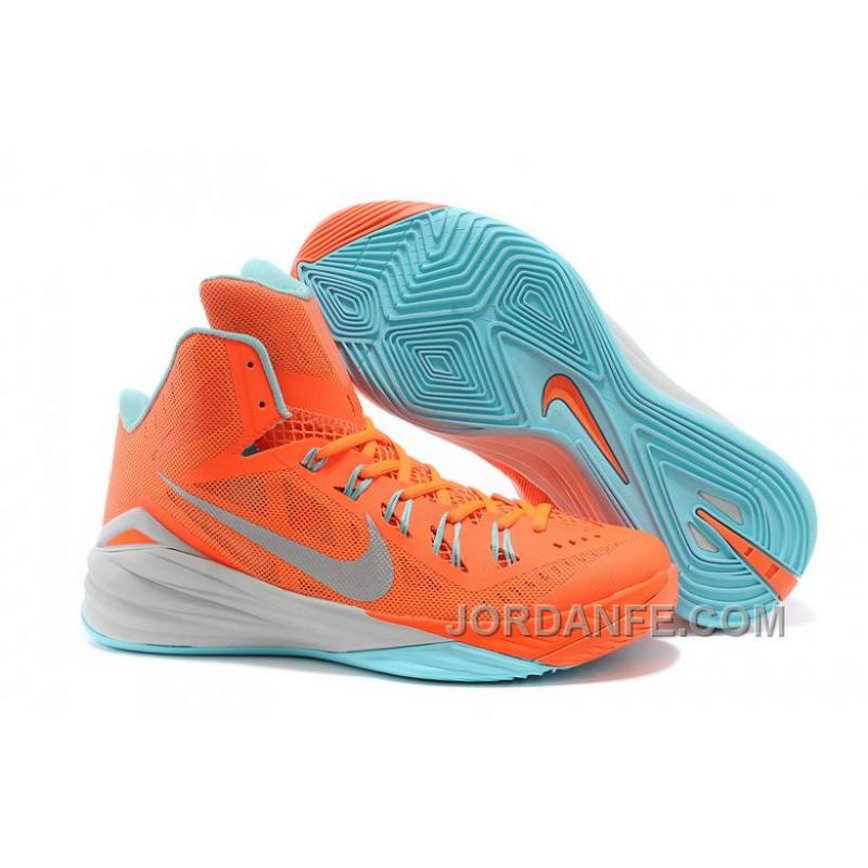 women's nike hyperdunk orange