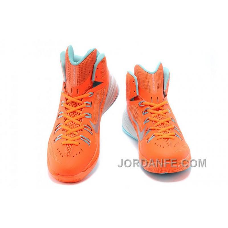 ... Nike Hyperdunk 2014 XDR Women Orange Mint Green Free Shipping ...