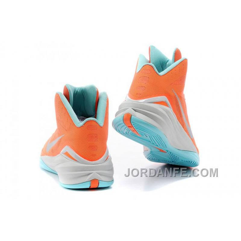 best website e543c 3988f ... Nike Hyperdunk 2014 XDR Women Orange Mint Green Free Shipping ...