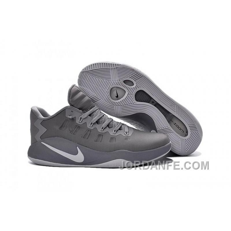 Nike Hyperdunk 2016 Low Grey White Authentic ...