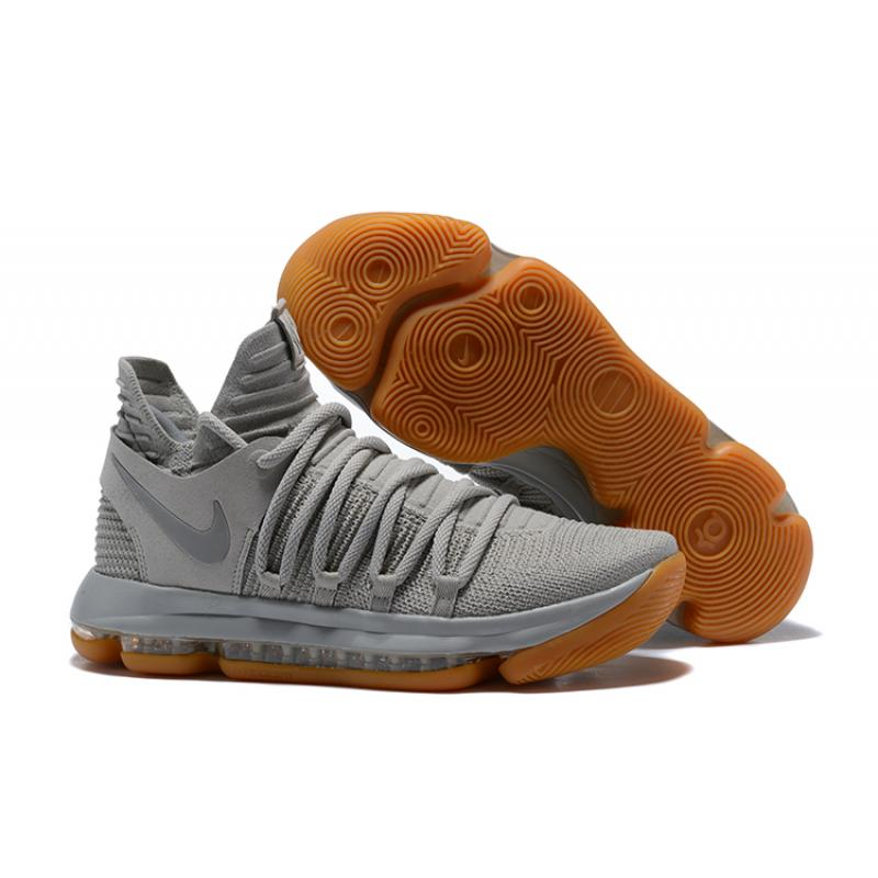 new arrival 75624 5d8ed Nike KD 10 Pale Grey/Light Bone-Gum Top Deals