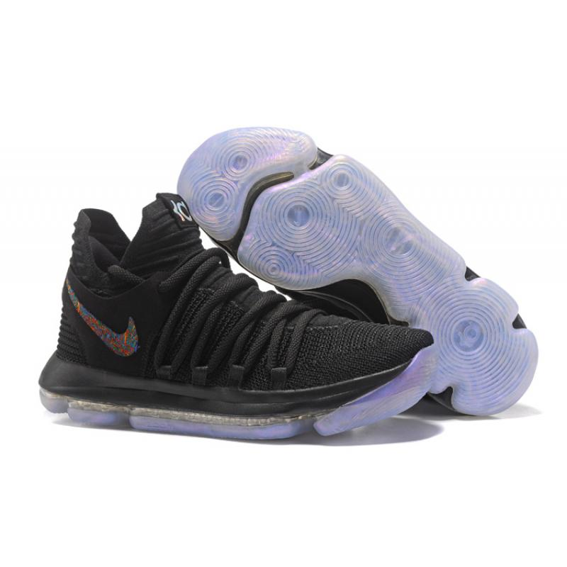"best service e2b12 e9bb0 New Year Deals Nike KD 10 ""Blackout"" All Black"