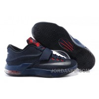 Nike KD 7 Denim Blue Red Authentic