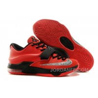 Nike KD 7 For Sale Custom Black Red Free Shipping