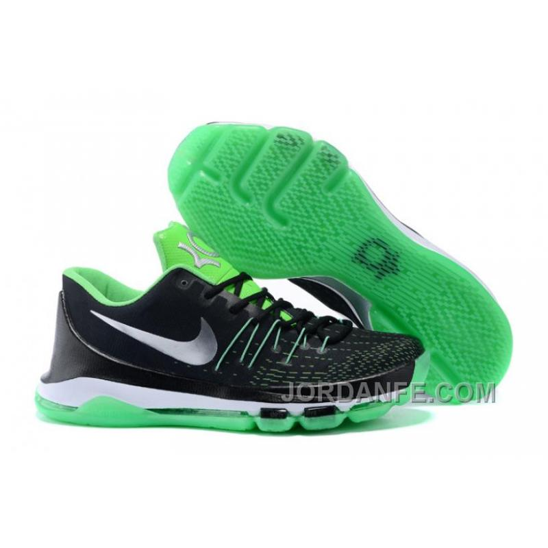 pretty nice 59a85 84366 USD  85.54  99.18. Nike KD 8 Custom Black Green For Sale ...