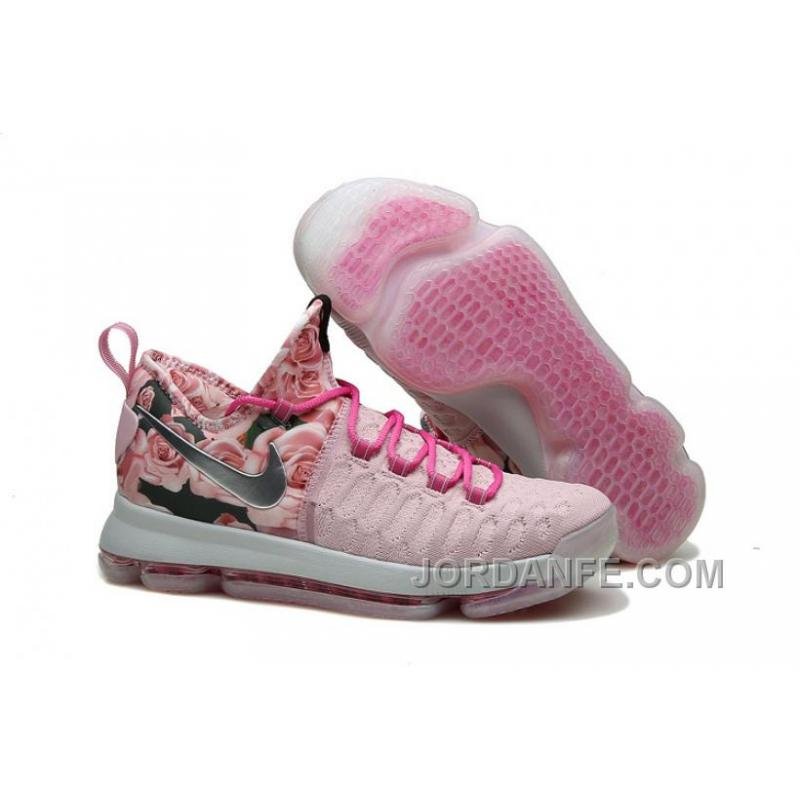 promo code 5c04e 9ca50 USD  99.18  99.18. Nike Kevin Durant KD 9 Pink Black Aunt Pearl Flora 2016  For Sale ...