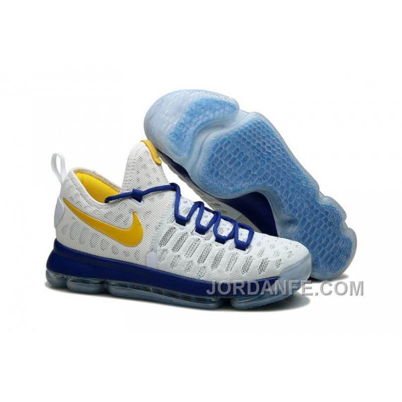 """Nike Kevin Durant KD 9 ID """"Golden State Warriors"""" 2016 For Sale ... 9e0162bb4"""
