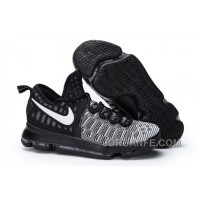 "Nike Kevin Durant KD 9 ""Oreo"" Black/White 2016 For Sale Xmas Deals"
