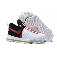 Nike KD 9 White Black Red Xmas Deals
