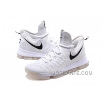 Nike KD 9 White Black Super Deals