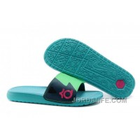 Nike KD Slide Slippers May Green For Sale Free Shipping