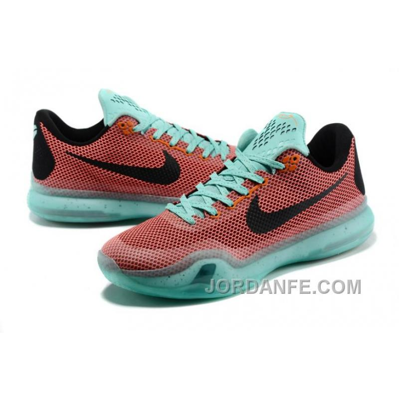 low priced 44463 3179a ... purchase nike kobe 10 x easter hot lava sunset glow black new release  8b522 eba07