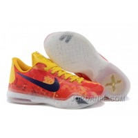 """Kobe 10 ID """"Sgt. Mamba"""" Yellow/Multi-Color For Sale Online"""
