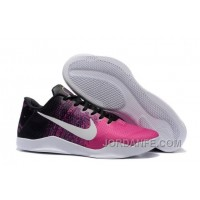 Nike Kobe 11 Black/Think Pink-White Shoes For Sale Online Top
