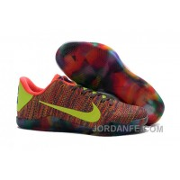 Nike Kobe 11 Elite Weave Colourful Basketball Shoes For Sale New Arrival