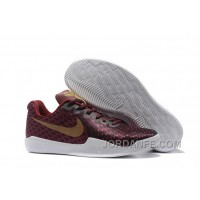 On Authentic Kobe 12 Wine Red Gold For Sale