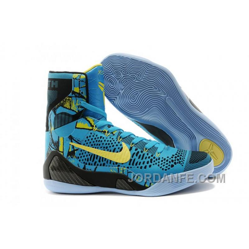buy popular ea98b c2f6b USD  99.18  99.18. Nike Kobe 9 Elite High Top Perspective Neon Turquoise  Volt Blue Black Authentic ...