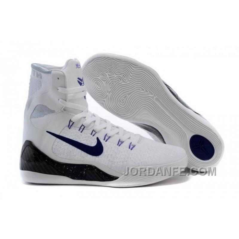 buy online 71e19 06fc1 USD  99.00  297.00. Cheap Kobe 9 Elite High Top Id White Black ...