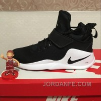 NIKE KWAZI HIGH Black White 844839-002 Hot