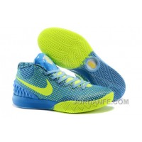 Nike Kyrie 1 Custom Blue Yellow Hot