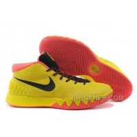 Nike Kyrie 1 Yellow And Black Authentic