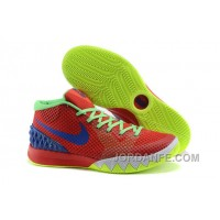 Nike Kyrie 1 Grade School Shoes Red Green New Release