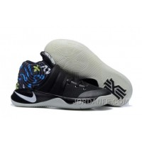 Nike Kyrie 2 Black/Multi-Color Basketball Shoes Top