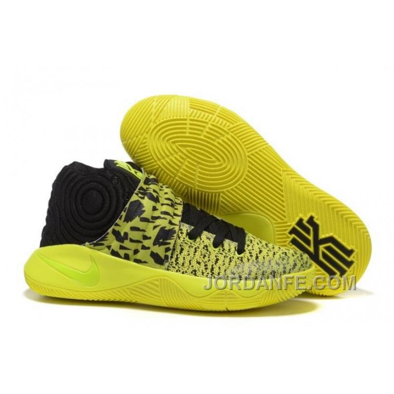 Nike Kyrie 2 Yellow/Volt-Black New Arrival ...