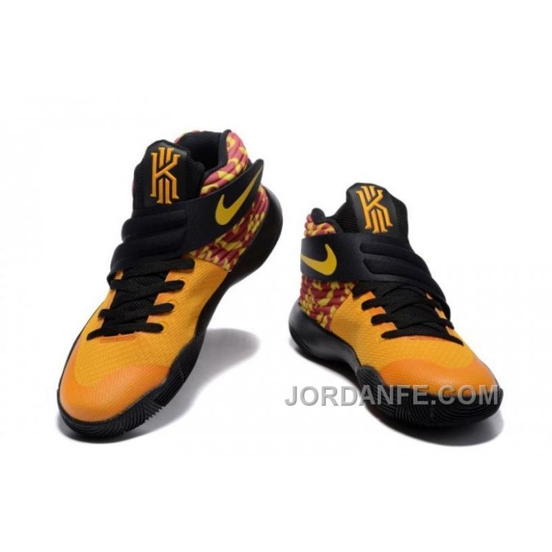 ... Nike Kyrie 2 Shoes Yellow Black Top ...