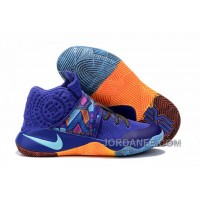 Nike Kyrie 2 Sneakers Navy Orange Free Shipping