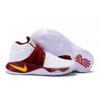 Nike Kyrie 2 Sneakers White Carmine New Release