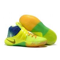 Nike Kyrie 2 Sneakers Yellow Orange Authentic