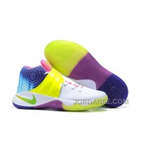 Nike Kyrie 2 Sneakers Yellow Rainbow Authentic
