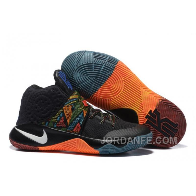 pretty nice 134af d2754 Nike Kyrie 2 Grade School Shoes BHM Top