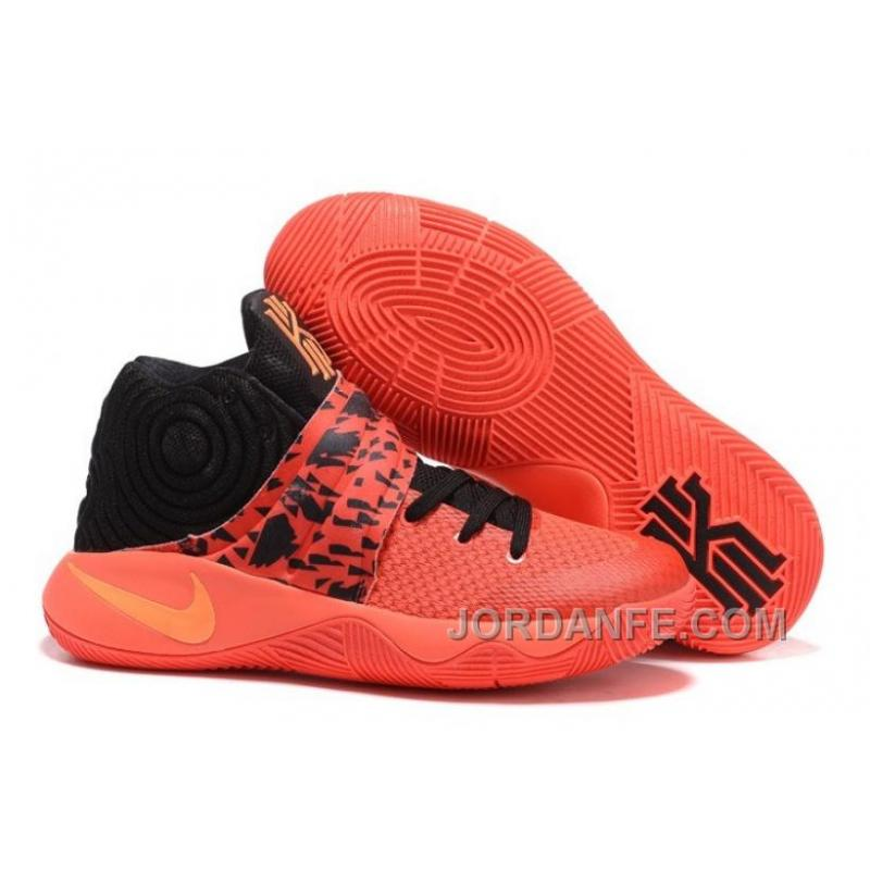 premium selection 0aee5 27d03 Nike Kyrie 2 Grade School Shoes Inferno Hot