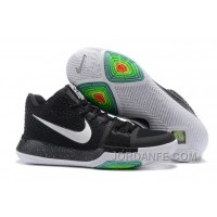 Nike Kyrie 3 Mens BasketBall Shoes Black White Authentic DwjSh